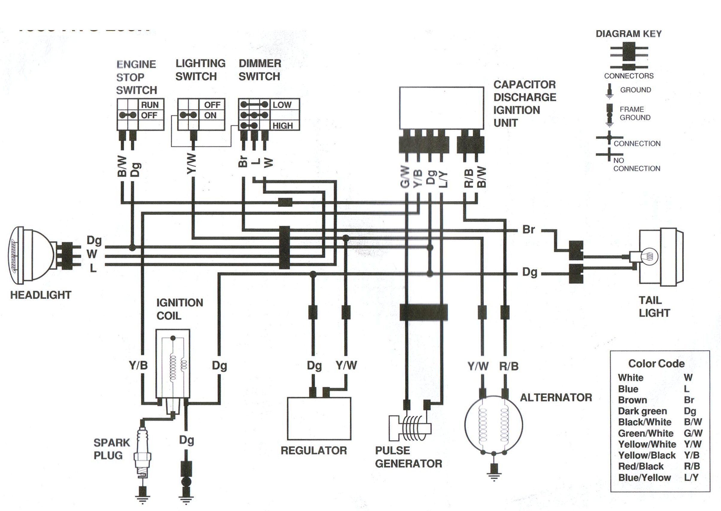 250r wiring diagram