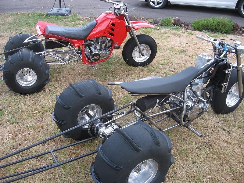 Three Wheeler Frame : Rigid wheeler frame